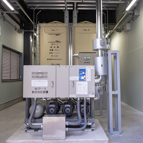 受水槽・浄化槽の設置と維持管理