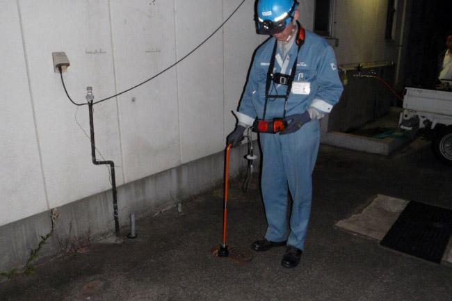 漏水調査業務